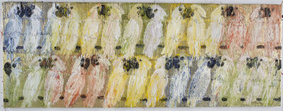 Hunt Slonem, 'Cockatoo Whisper Pastel', 2016