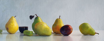Randall W.L. Mooers, 'Five Pears with Nectarine', 2019