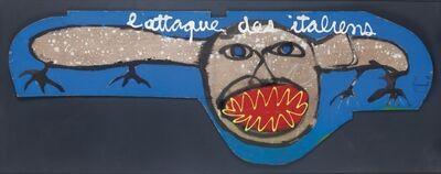 Ben Vautier, 'L'attaque des italiens', 1983