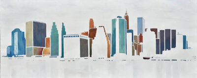 Dylan Williams, 'Melodic Downtown', 2011-2019