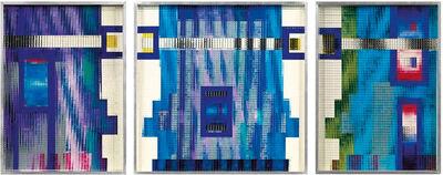 marc adrian, 'The Gate (Triptychon)', 1975