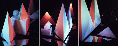 Barbara Kasten, 'Triptych I', 1983