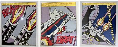 Roy Lichtenstein, 'As I Opened Fire', 1964-2000s