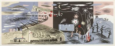 John Piper, 'Nursery Frieze II, 1936', 1936