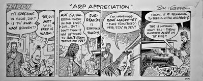 Bill Griffith, 'ARP APPRECIATION   - daily strip', 1995