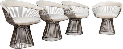 Warren Platner, 'Four Arm Chairs', circa 1966