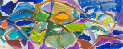 Ivon Hitchens, 'Green Shades in a Green Wood', 1970