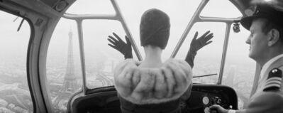 Norman Parkinson, 'Cardin Hat over Paris', 1960