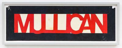 Matt Mullican, 'Untitled (Bumper stickers)', 1977