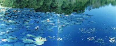 Risaku Suzuki, 'Water Mirror 16, WM-634, 636 (diptych)', 2016