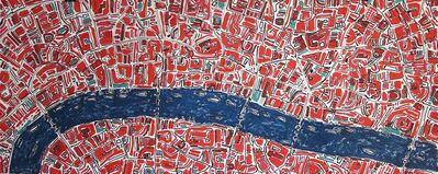 Barbara Macfarlane, 'Brilliant Red London', 2017