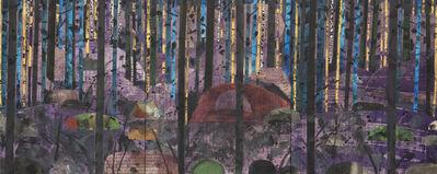 Ed Miliano, 'Dawn Chorus, Killiney Hill - Triptych', 2021