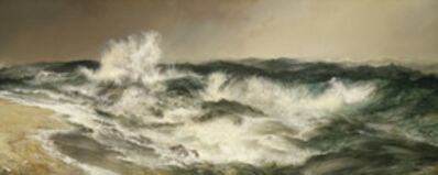 Thomas Moran, 'The Much Resounding Sea', 1884