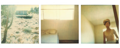 Stefanie Schneider, 'Blue House (triptych) - Contemporary, 21st Century, Polaroid, Figurative Photography, Nude', 1998