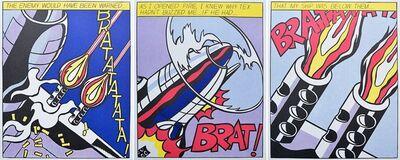 Roy Lichtenstein, 'As I opened Fire', 1960-1970