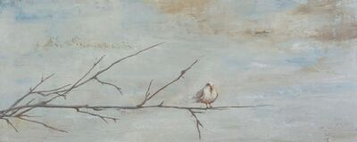 MARTA GÓMEZ DE LA SERNA, ' branch with bird', 2019