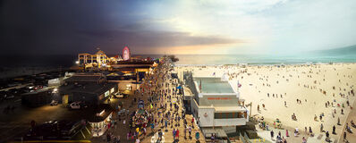 Stephen Wilkes, 'Santa Monica Pier, California', 2013
