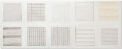 Agnes Martin, 'Untitled (from Paintings and Drawings: 1974-1990)', 1991