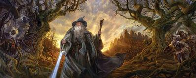 Matthew Stewart, 'Gandalf at Dol Guldur', 2018
