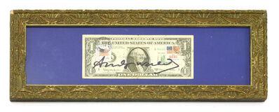 Andy Warhol, 'Dollar Bill'