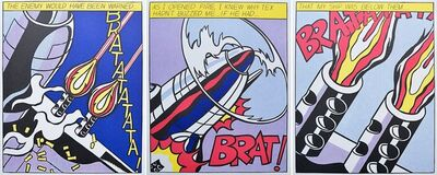 Roy Lichtenstein, 'As I opened Fire', 1960-1970
