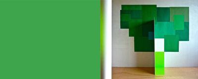 Serge Tousignant, 'Totem vert', 2012