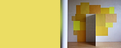 Serge Tousignant, 'Totem jaune', 2012