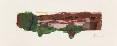 Helen Frankenthaler, 'A Page from a Book II, from This is Not a Book', 1997