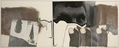 John Wood, 'Tyrone Guy and Rocket', 1968