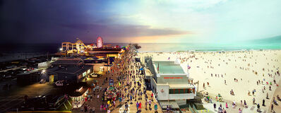 Stephen Wilkes, 'Santa Monica Pier, LA', 2013