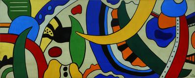 Fernand Léger, 'Composition', 1953