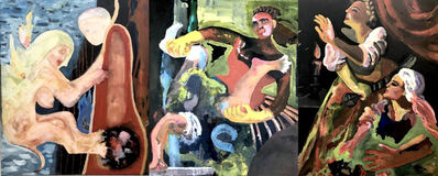 Cathy O'Reilly Hayes, 'The Avengers (triptych)', 2020