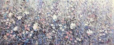Konstantin Savchenko, 'White Flowers, Framed'