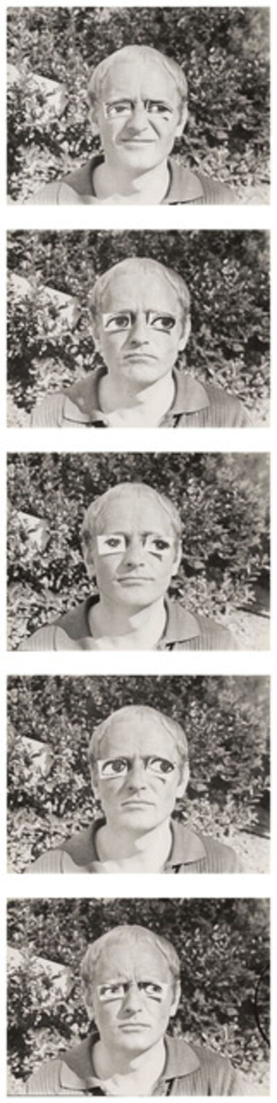 Károly Kismányoky, 'With the Eyes of Others I - IV', 1973