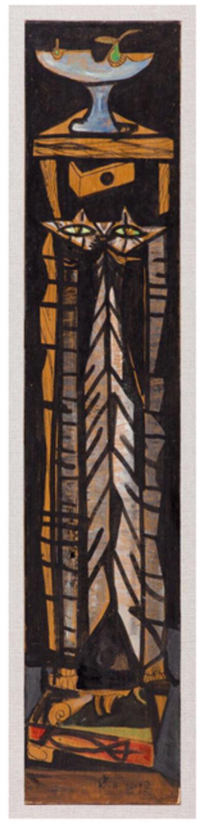 Óscar Domínguez, 'Le Chat', 1953