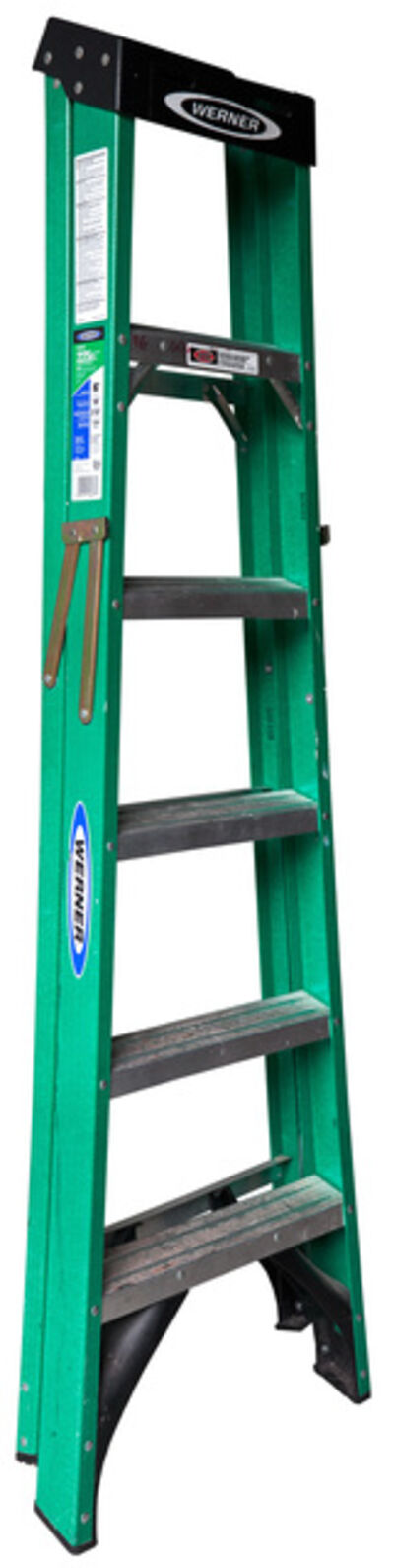 Jennifer Williams, 'Medium Folding Ladder: Green with Black Top', 2012