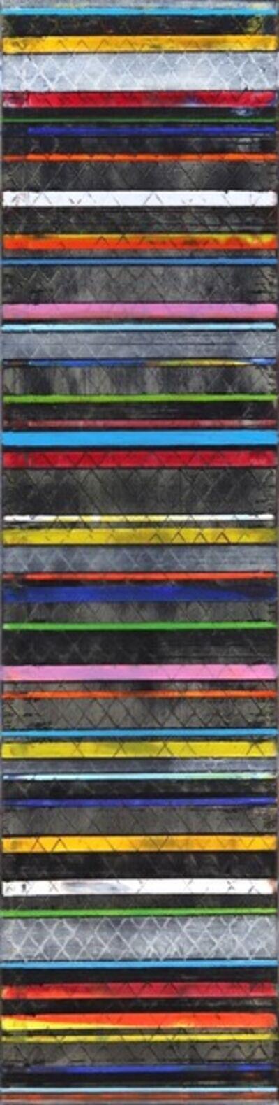 Petra Rös-Nickel, 'Colour Lines In Black', 2020