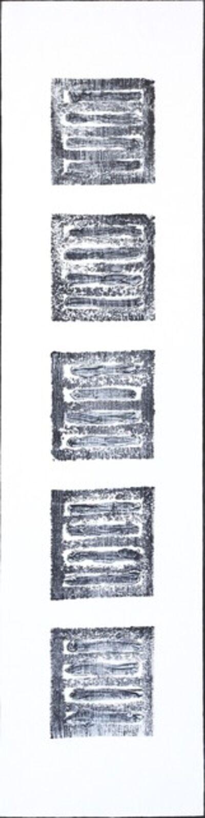 Len Klikunas, 'Black Strata Pattern: Black Butte', 2018