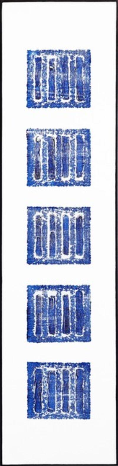 Len Klikunas, 'Five Moments (Incline, Yosemite - Blue)', 2020