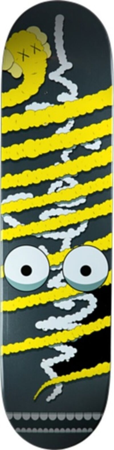 KAWS, 'Yellow Snake (Limited Edition, Numbered) Skate Deck', ca. 2005