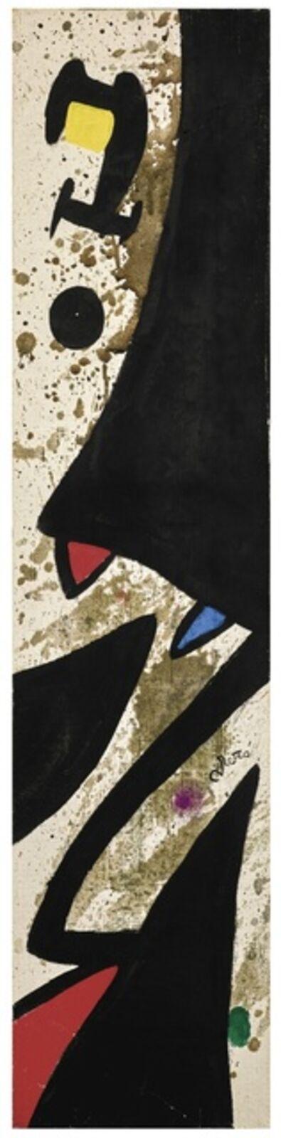 Joan Miró, 'Oiseaux', September 2nd-1972