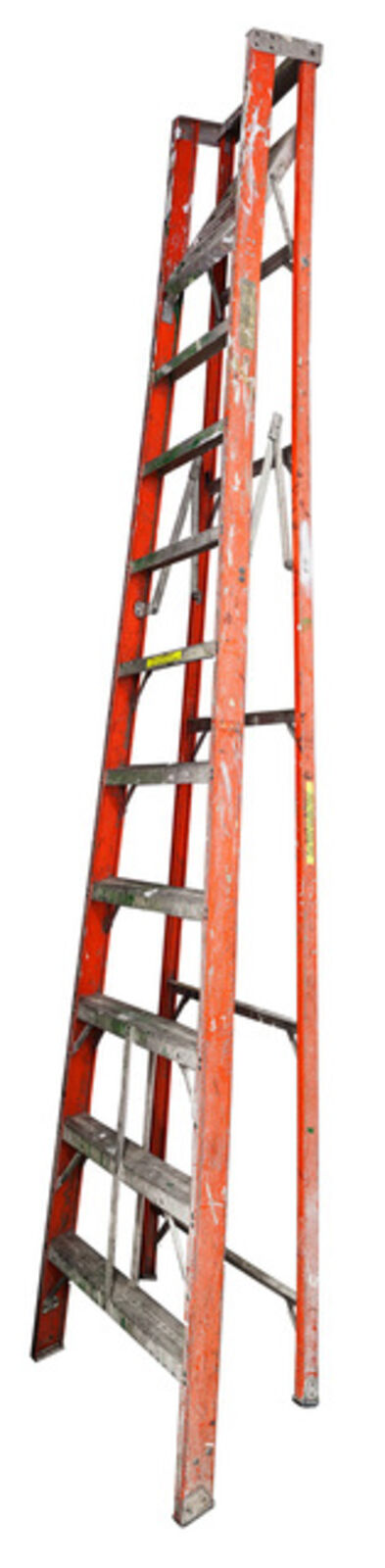 Jennifer Williams, 'Large Folding Ladder: Orange with Platform', 2012