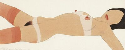 Tom Wesselmann, 'Open Ended Nude #123 (Drawing Edition)', 1982