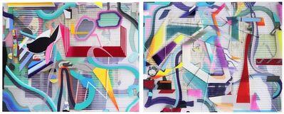 Danny Rolph, 'Red Wheelbarrow (diptych)', 2018