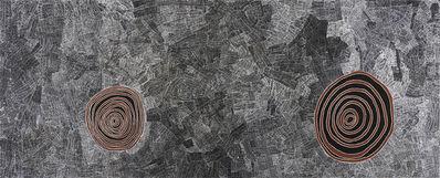 Wentja Morgan Napaltjarri, 'Rockholes west of Kintore (AEWMN10-08222PAG)', 2008