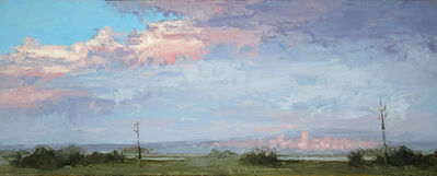 Jane Hunt, 'Sun Setting on Denver', 2015
