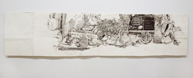 Dawn Clements, 'My Desk (Ballpoint)', 2009