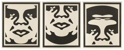 Shepard Fairey, 'Obey Giant Triptych', 2008