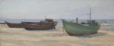 Efim Deshalit, 'Fishingboats', 1959