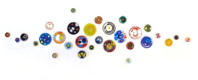 Klari Reis, 'Hypochondria, 30 pieces, Multicolored', 2019